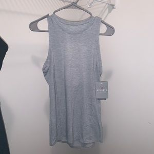 Gray Athleta Essence Tank Top